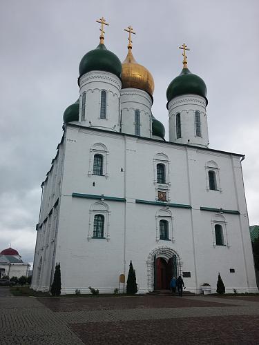 Нажмите на изображение для увеличения Название: Успенский кафедральный собор в Коломне.jpg Просмотров: 176 Размер:71.6 Кб ID:1580