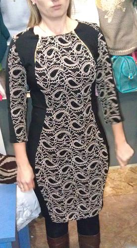 Нажмите на изображение для увеличения Название: Коричнево-черное платье с узором.jpg Просмотров: 271 Размер:99.3 Кб ID:617