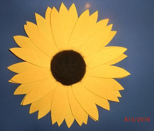Нажмите на изображение для увеличения Название: Подсолнух фелтинг - цветок солнца.jpg Просмотров: 127 Размер:62.1 Кб ID:1110
